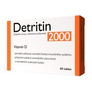 Detritin 2000 IU Vitamin D3 60 tablet