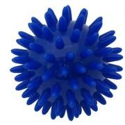 KineMAX Hedgehog Masážní míček ježek 6cm modrý