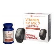 Vitamín K2 MK 7 + D3 Forte tbl.125 + Fitness nár.
