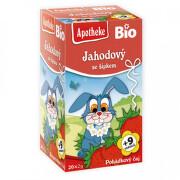 Dětský BIO Pohádkový čaj Jahodový se smetan.20x2g