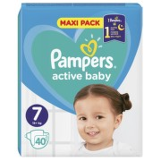 PAMPERS Active Baby VPP 7 XXL 40ks