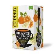 Cupper BIO čaj Orange & Lemon 20 n.s.