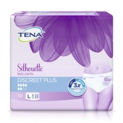TENA Lady Pants Discreete Plus Large - Inkontinenční kalhotky ( 10ks)