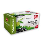 Detoxikace Zelený čaj+kopřiva+černý rybíz 20x1.5g