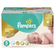 Pampers Plenky Premium Mega Box S5 88