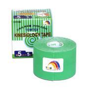 Tejp. TEMTEX kinesio tape zelená 5cmx5m