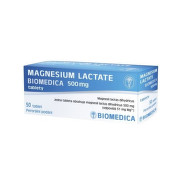 MAGNESIUM LACTATE BIOMEDICA 500MG neobalené tablety 100