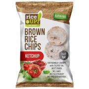 Rýžové chipsy kečup 60g