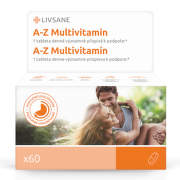LIVSANE A-Z Multivitamin komplex tablety 60ks