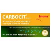 CARBOCIT 320MG/25MG/3MG neobalené tablety 20