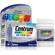 Multivitamin Centrum Silver 50+ pro muže 30tbl
