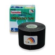 Tejp. TEMTEX kinesio tape Tourmaline černá 5cmx5m