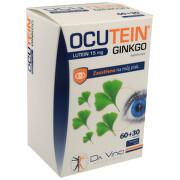 Ocutein Ginkgo 45mg+Lutein 15mg DaVinci tob.60+30