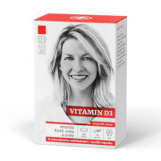 RED HEALTH CARE Vitamin D3 1000 IU tbl.60