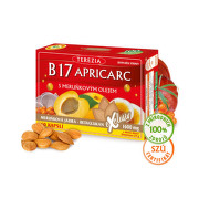 TEREZIA B17 APRICARC s meruň.olejem cps.60