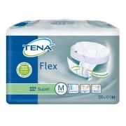TENA Flex Super Medium - Inkontinenční kalhotky s páskem na suchý zip (30ks)