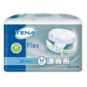 TENA Flex Plus Medium - Inkontinenční kalhotky s páskem na suchý zip (30ks)