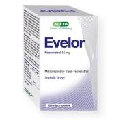 Evelor resveratrol 50 mg tob.90