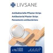 LIVSANE náplast antibakteriální proužky 16ks