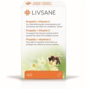 LIVSANE Propolis s Vitamínem C cps.60