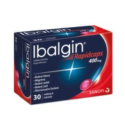 IBALGIN RAPIDCAPS 400MG měkké tobolky 30