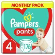 Pampers kalhotkové plenky Monthly Box S4 176ks