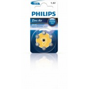 Baterie do naslouchadel PHILIPS ZA10B6A/00 6ks