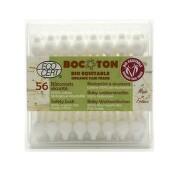 Bocoton Bio 56 ks tyčinek do uší pro malé děti