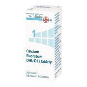 CALCIUM FLUORATUM DHU D5-D30 neobalené tablety 200