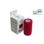 KineMAX Cohesive elast.samofix.10cmx4.5m červe.