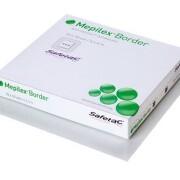MEPILEX BORDER 7,5X7,5 CM, 5 KS, SAMOLEPÍCÍ ABSORPČNÍ PĚNOVÉ KRYT