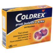 COLDREX PROTI BOLESTI V KRKU OSTRUŽINA 2,5MG/1,2MG pastilka 20 I