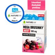 Swiss NatureVia Mega brusinky Akut cps.15