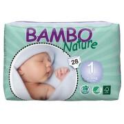 Bambo Nature New Born plen.k. 2-4kg 28ks - II. jakost