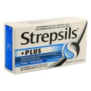 STREPSILS PLUS 0,6MG/1,2MG/10MG pastilka 24