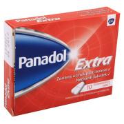 PANADOL EXTRA 500MG/65MG potahované tablety 10