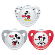 NUK Dudlík Mickey SI V2(6-18m)1ks BOX 736338