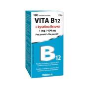 Vita B12 + kyselina listová 1 mg/400mcg tbl.100