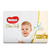 HUGGIES Elite Soft 3 5-9kg 40ks