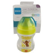 MAM Hrnek na učení Learn to drink cup 190ml 6+měs.