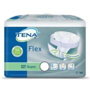 TENA Flex Super Small - Inkontinenční kalhotky s páskem na suchý zip (30ks) - II.jakost