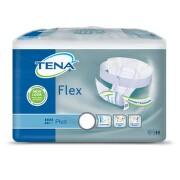 TENA Flex Plus X-Large - Inkontinenční kalhotky s páskem na suchý zip (30ks)
