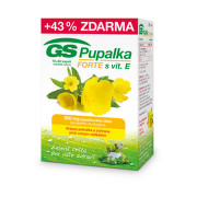 GS Pupalka Forte s vitaminem E cps.70+30 - II.jakost