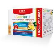 Cemio Multivitamin+zázvor tbl.80+40