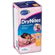 HUGGIES DryNites 3-5let Girl 16-23kg 10ks