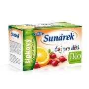 Sunárek Bio čaj šípkový s pomerančem 20 x 1.5g