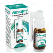 AMBROSPRAY 5% 50MG/G sprej 13ML