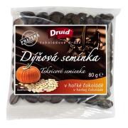 Dýňová semínka v hořké čokoládě DRUID 80g