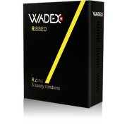 Kondom WADEX Ribbed (prezervativ) 3ks