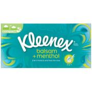 KLEENEX Kapesníky papírové Balsam+Menthol Box 72ks